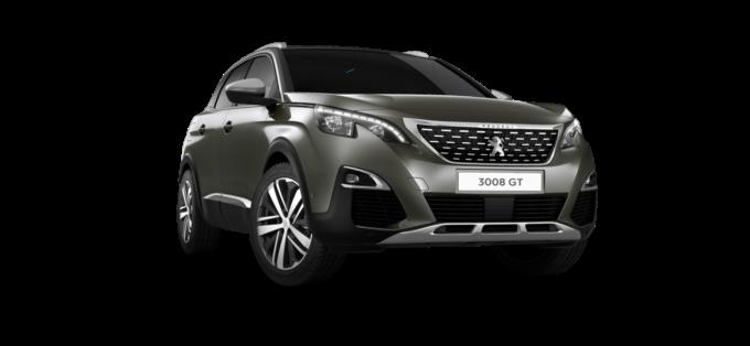 Peugeot3008 SUV GTAmazonite Grey
