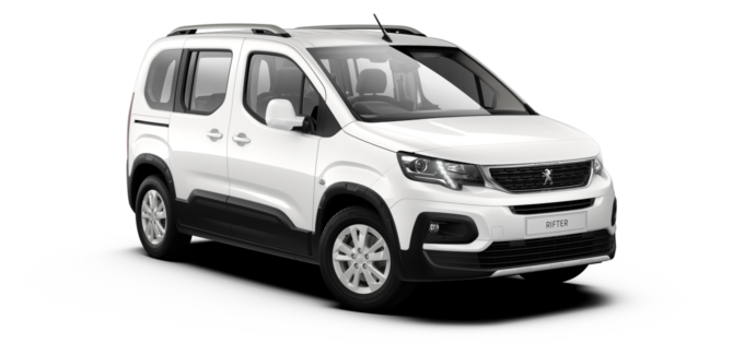 PeugeotAll-New RifterBianca White