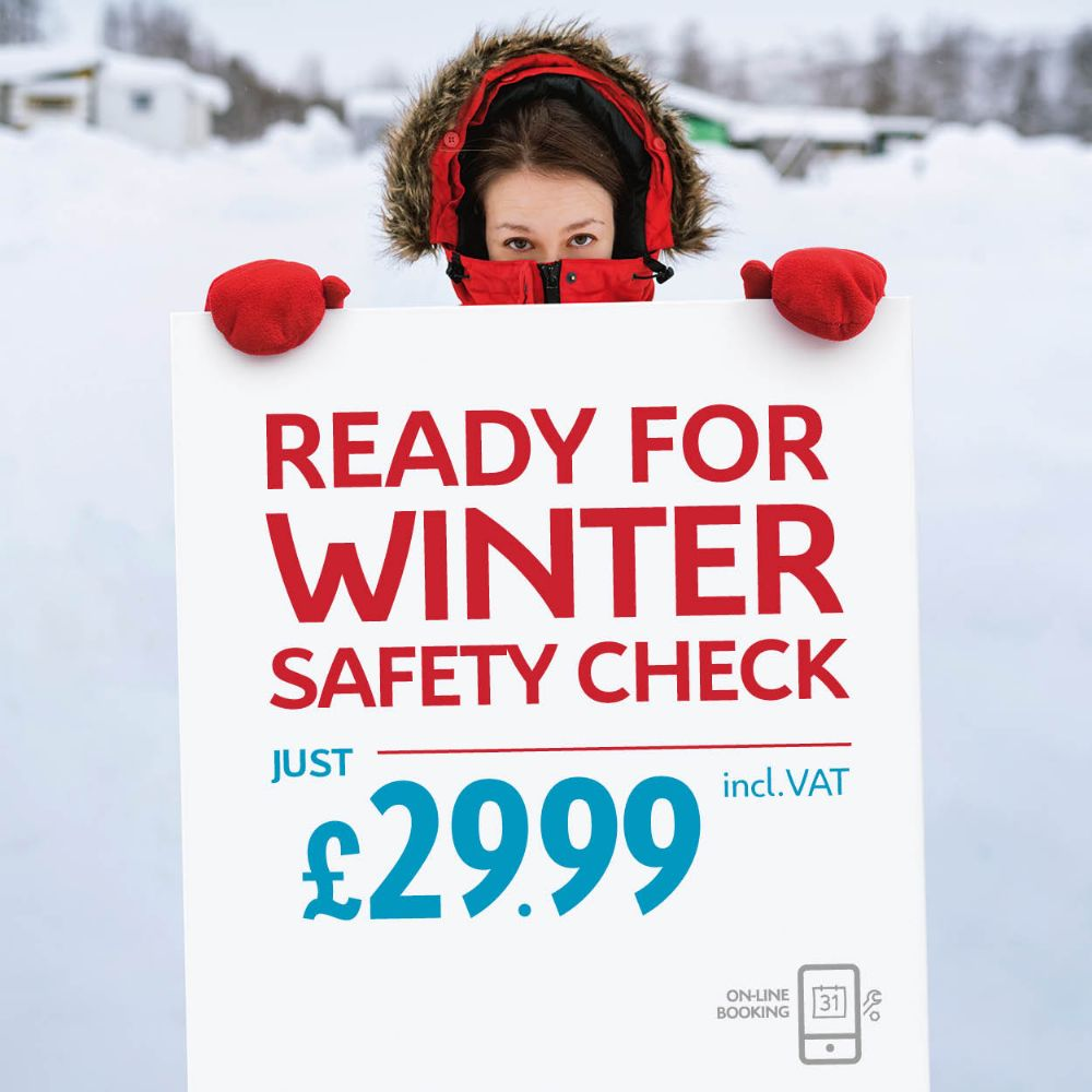 WINTER CHECK £29.99